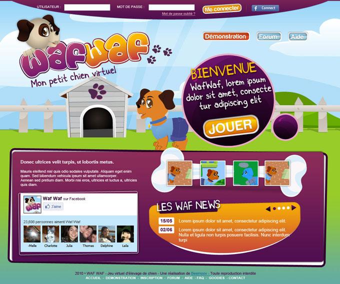 jeux de chien virtuel gratuit en ligne. Black Bedroom Furniture Sets. Home Design Ideas