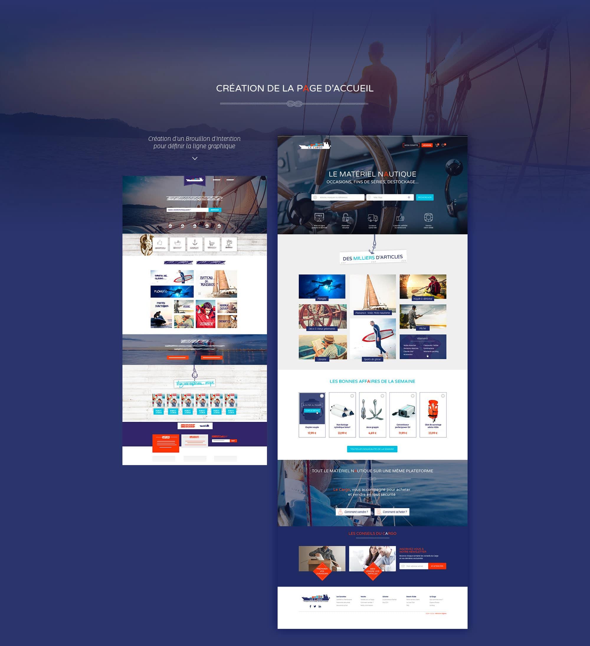 Webdesigner france homepage