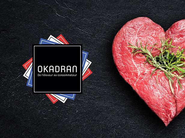 Webdesign de la marketplace de vente de viande