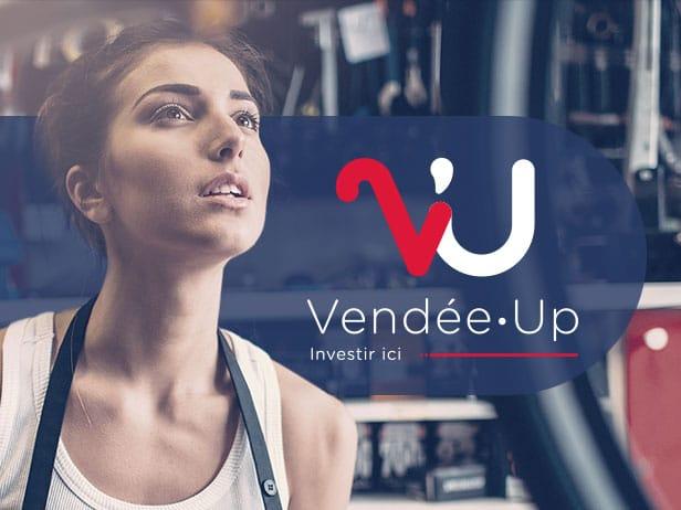 Communication digitale de Vendée Up
