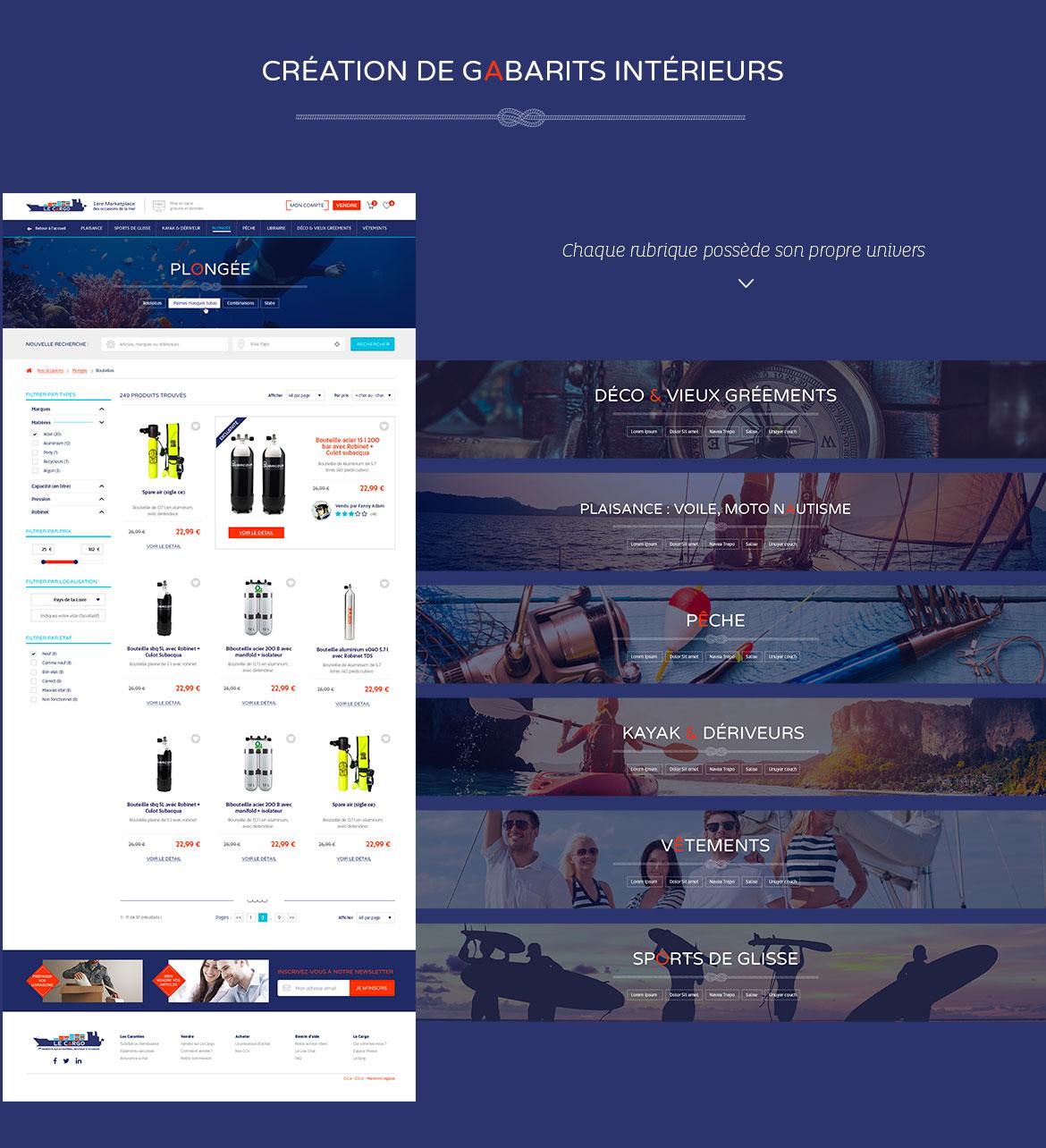 Webdesign le cargo