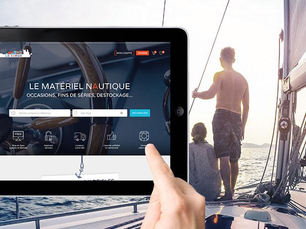Création de la marketplace nautique, le Cargo