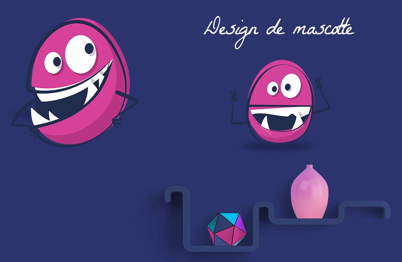 Design de mascotte et logo