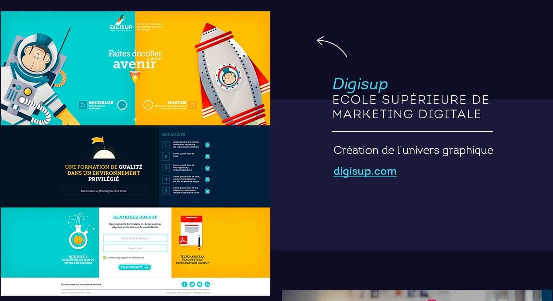 Webdesigner freelance Digisup