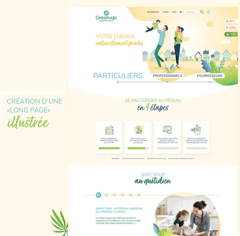 Webdesign pour un appel d'offres