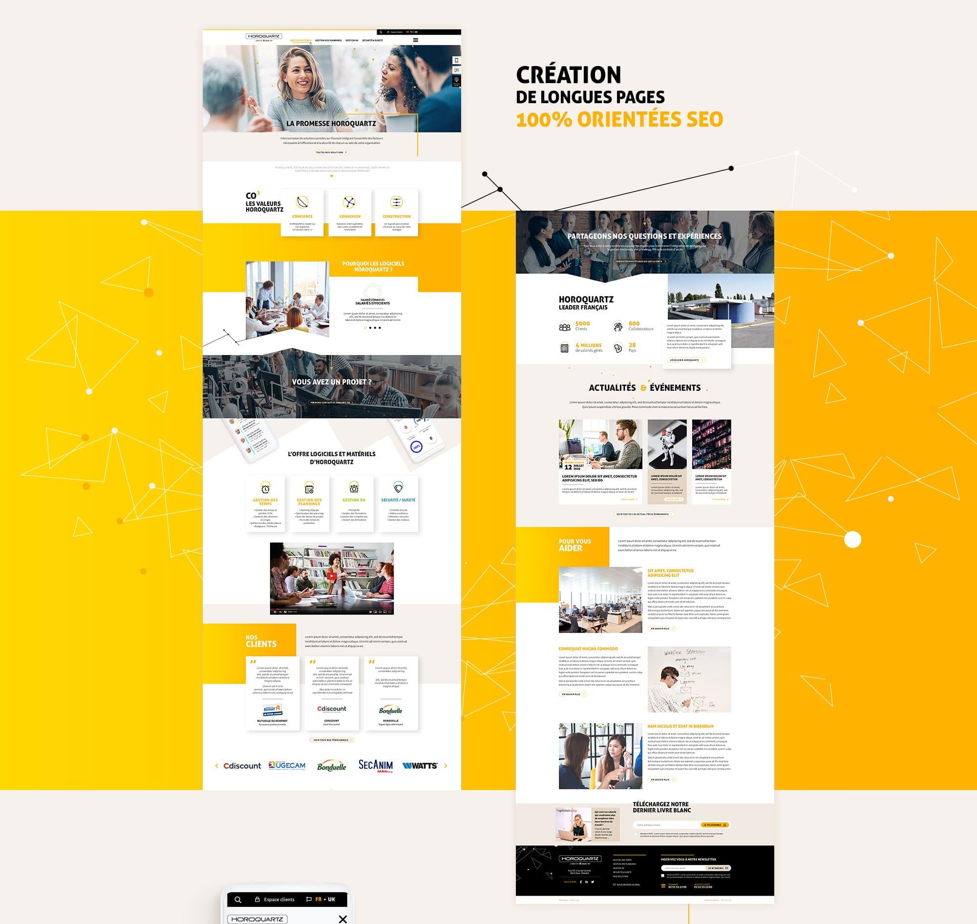 Webdesign pour le SEO en freelance