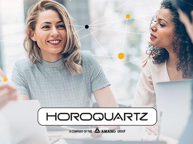 Création du webdesign du site Horoquartz en freelance
