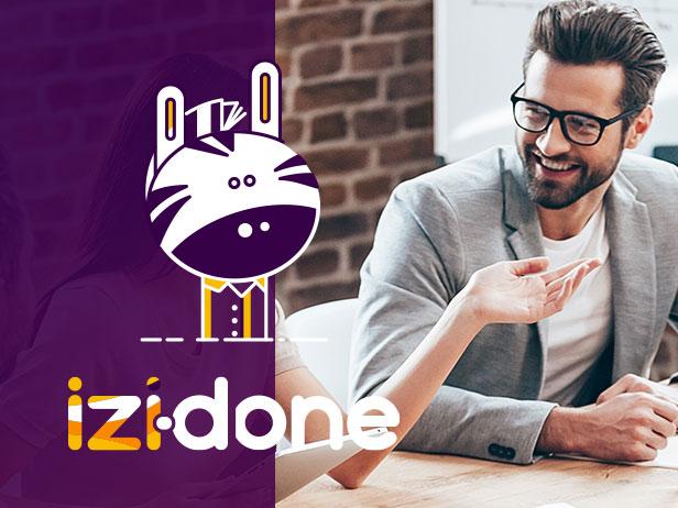 Création graphique de l'application Izidone