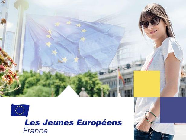 Webdesign des blogs d'information de Jeunes Européens