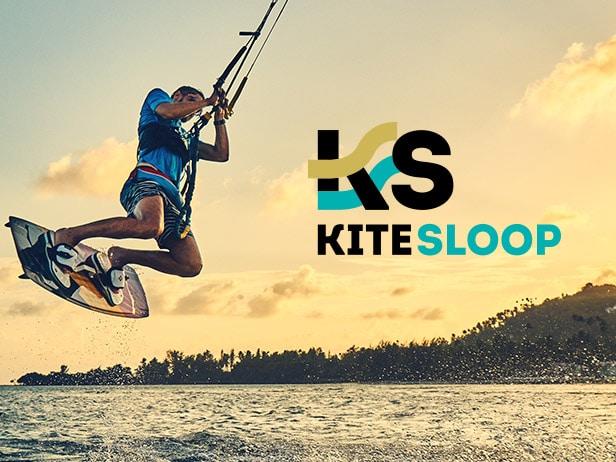 Création du site internet de l'école de Kite Surf
