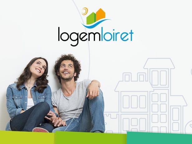 Mission freelance pour le site de Logem Loiret