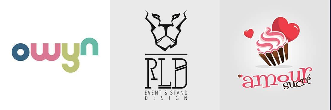 Création d'un logo graphique en freelance