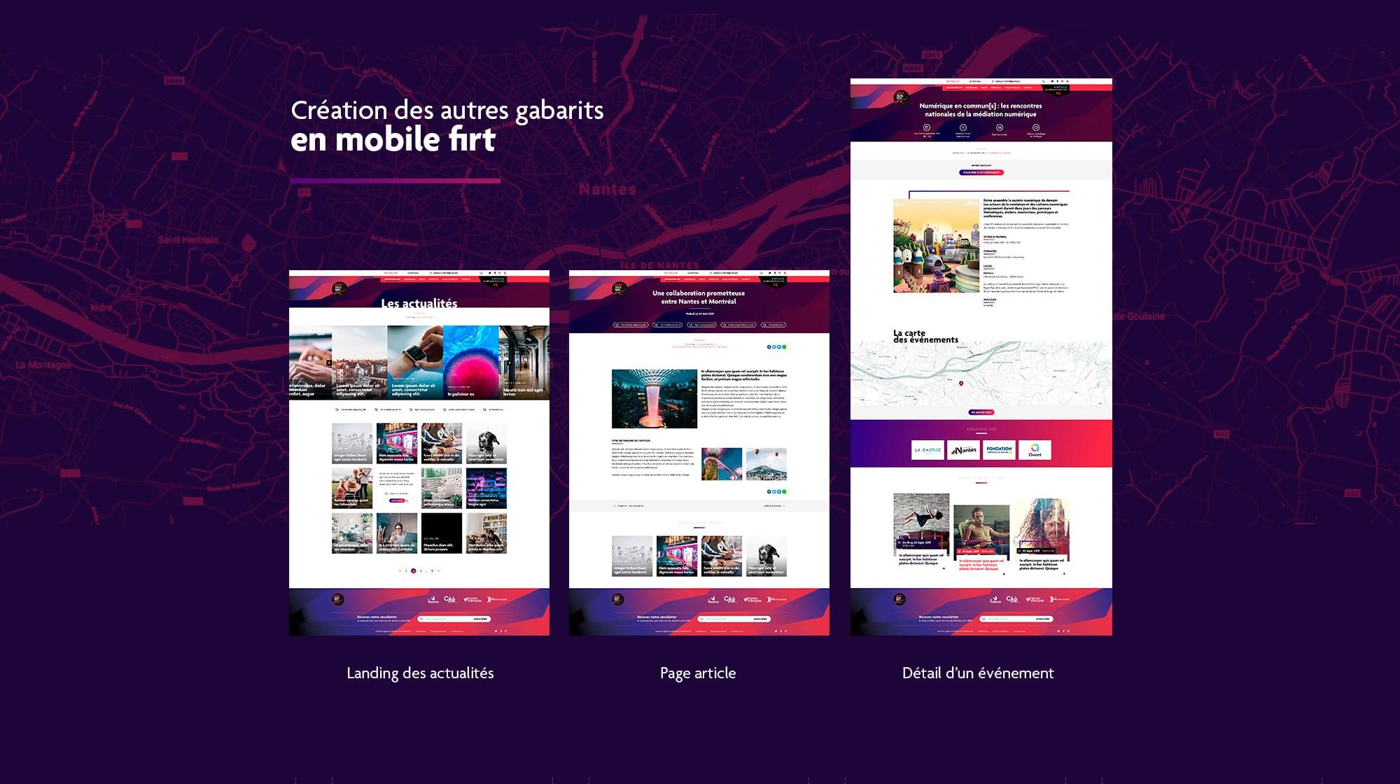 Création d'un site internet Wordpress