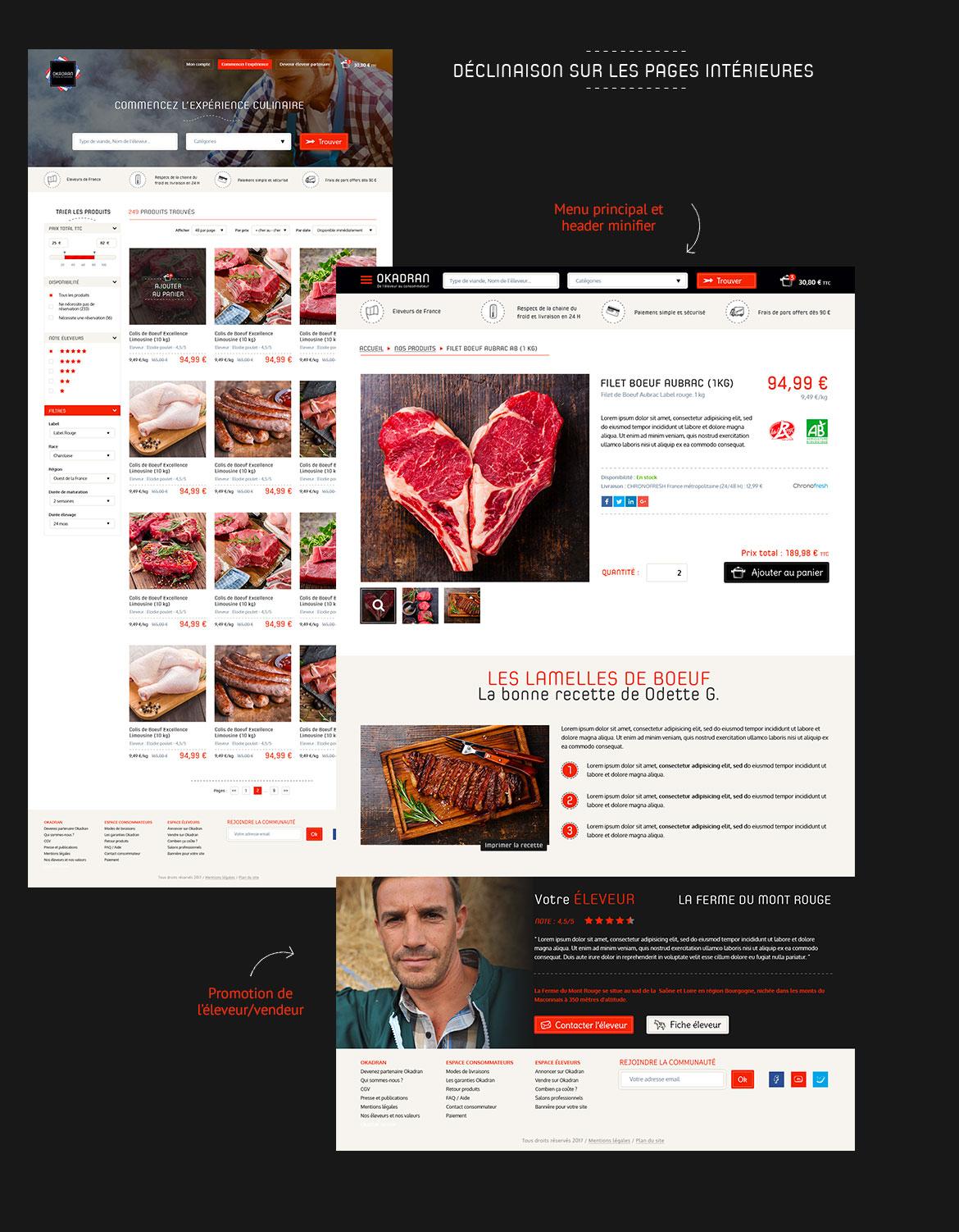 Webdesigner freelance boutique en ligne