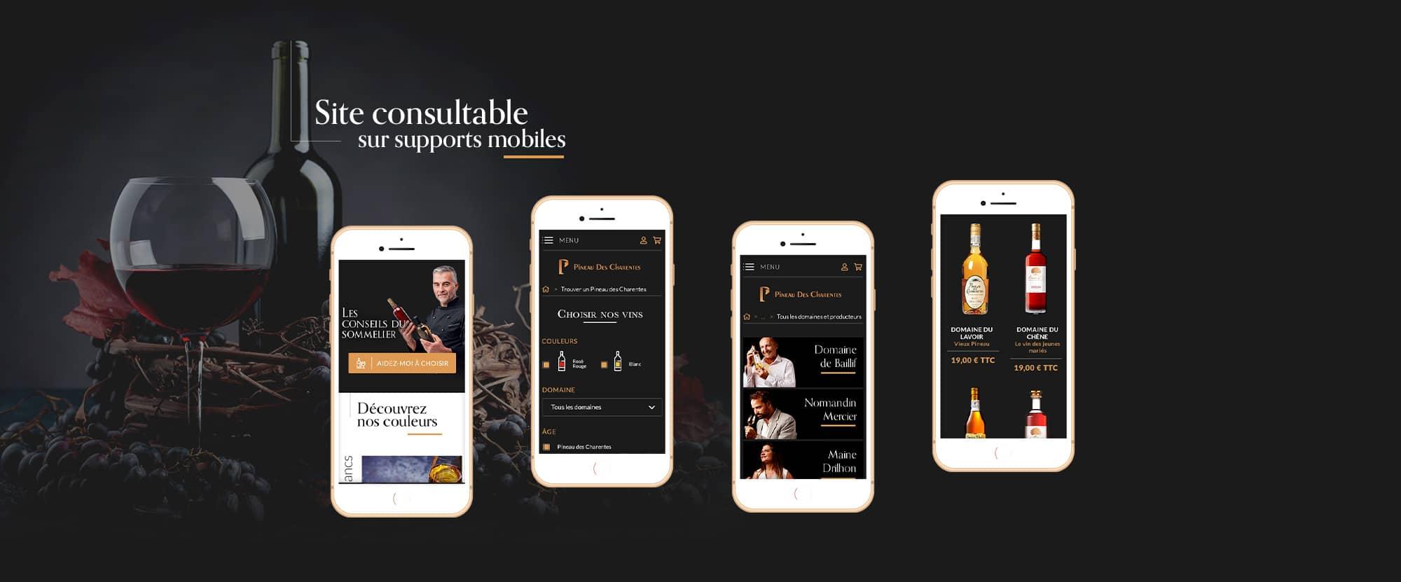 Webdesign et mobile first