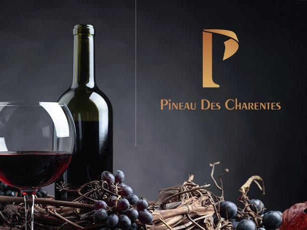 Création graphique de la boutique de Pineau des Charentes