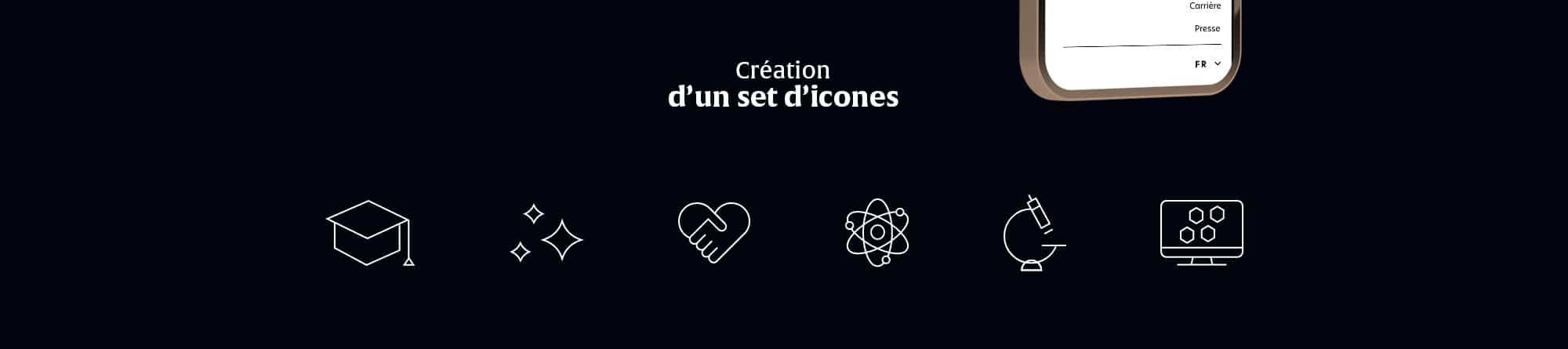 Création d'icones