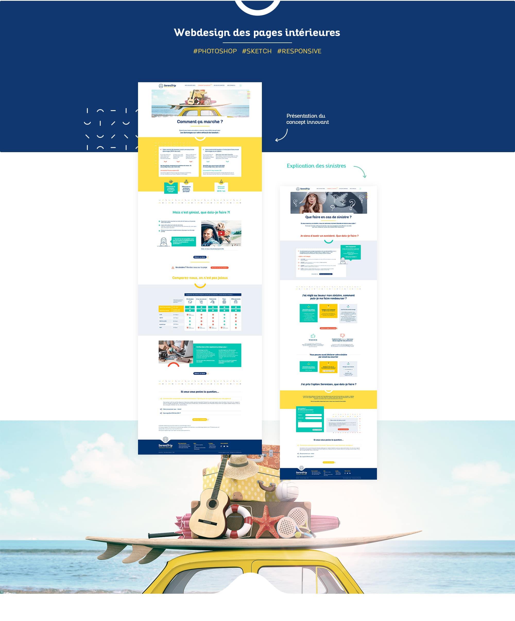 Webesign de site wordpress sur Nantes