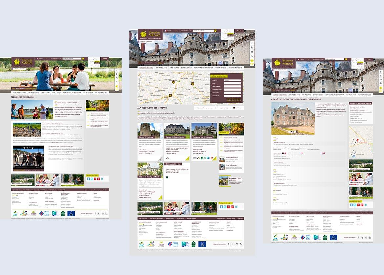 Création webdesigner tourisme