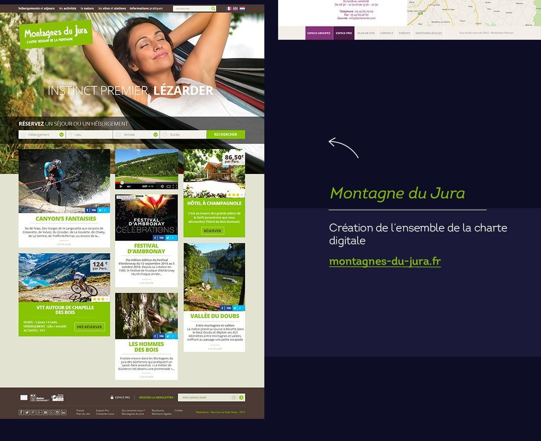 Webdesigner freelance Montagnes du Jura