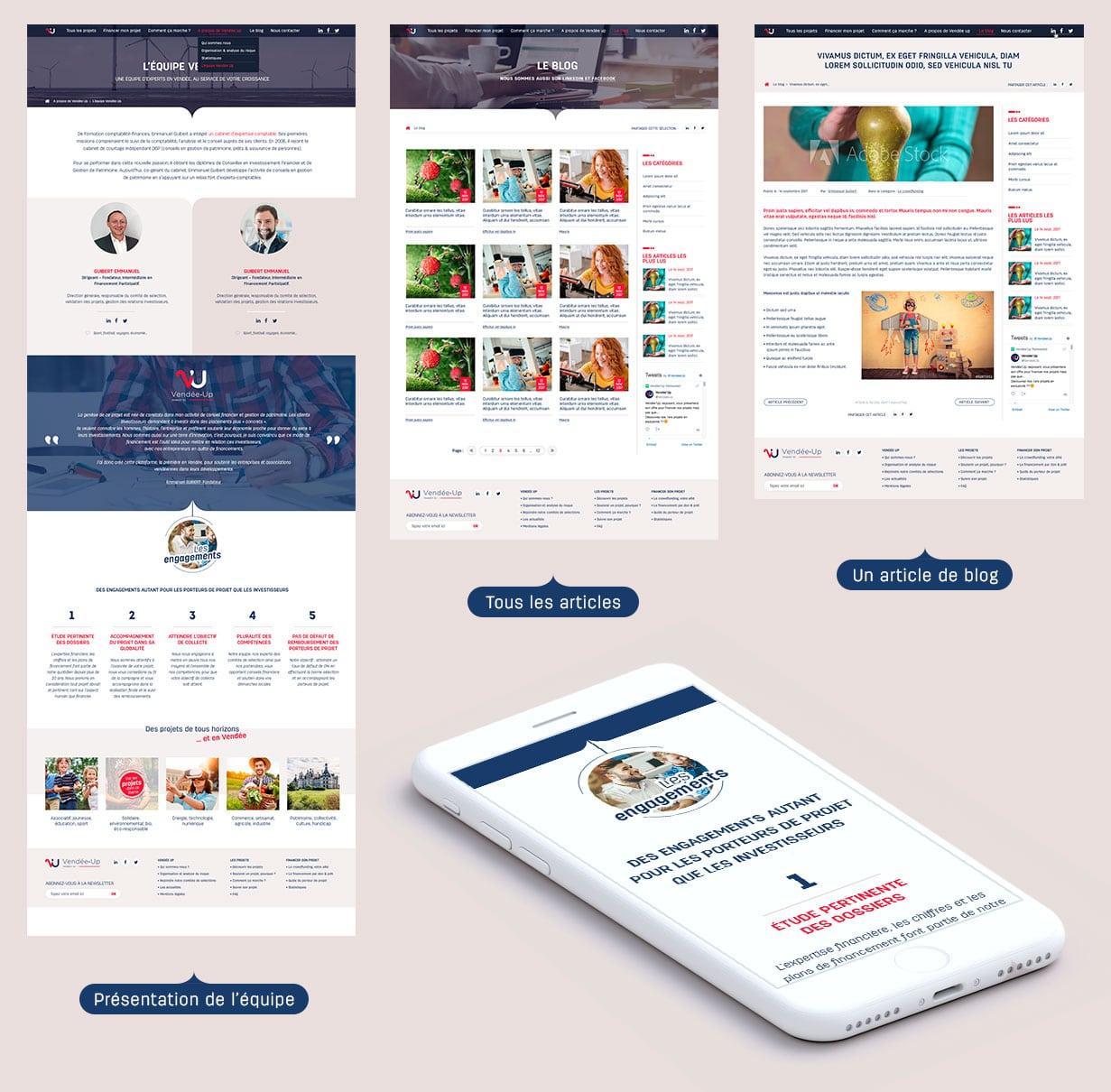 Déclinaison responsive des pages web