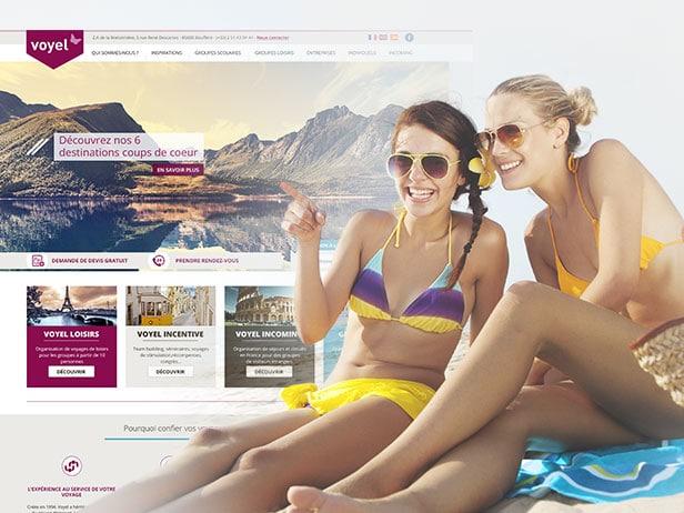 Création du site internet de l'agence en Vendée