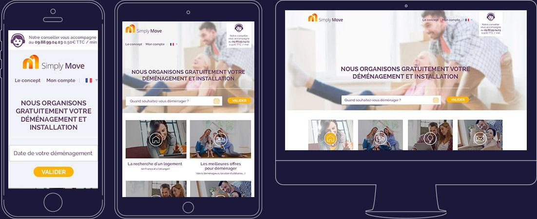 Design compatible mobile et tablette
